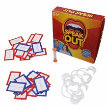 speak out board game interesting party game for christmas gift