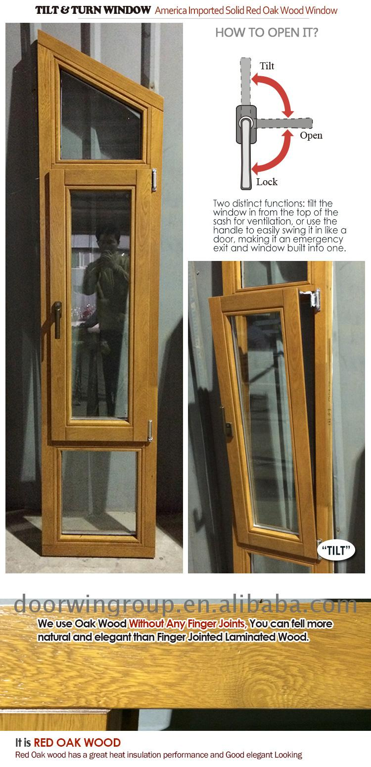 Tilt Turn Window with Australian Standard and door