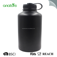 Vacuum Insulated Stainless Steel 36oz Water Bottle Summit Wide Mouth Thermos Travel Mug Double Walled Flask Powder Coated