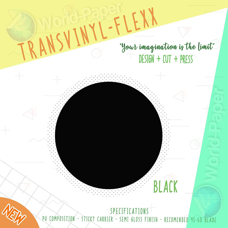 "Black Glitter Heat Transfer Vinyl Roll 10"" x 3 Yards :)"