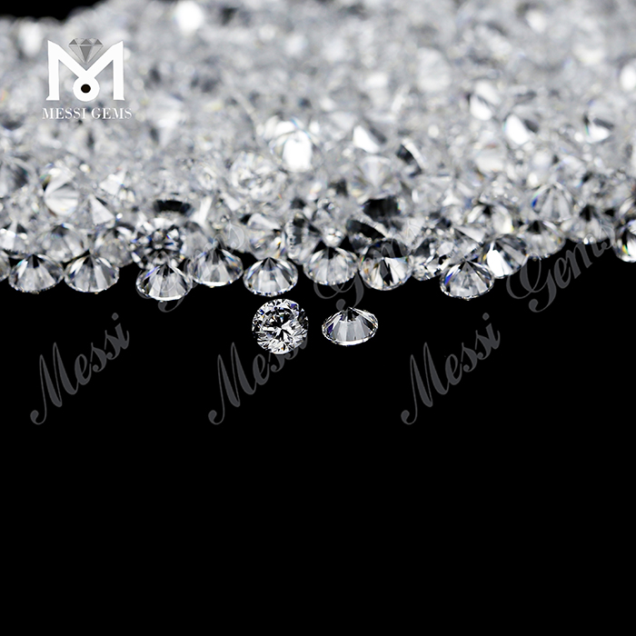 2.5mm white cz gems cubic zirconia stones less than 1 dollar