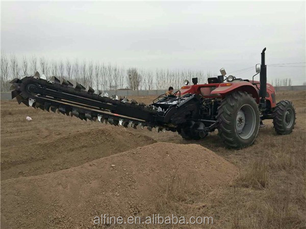 Hot sale easy operation agricultural machinery trencher