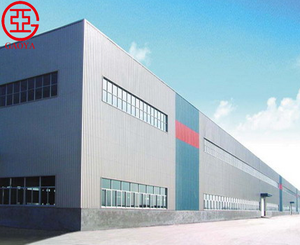 Prefabricated design structure fast build light steel plant workshop building