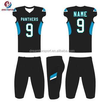 e12496d83989f 100% poliéster ropa más nuevo diseño ropa deportiva personalizada fútbol  americano ...