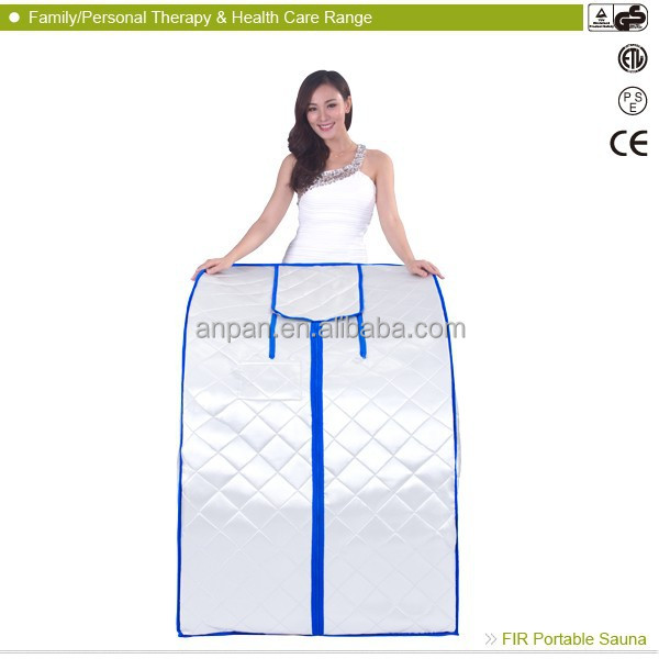Half body sauna dubai home portable infrared sauna ANP-329TMF 1 person sauna