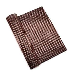 office ground plastic woven floor door mat beach chair rattan material hotel place mat