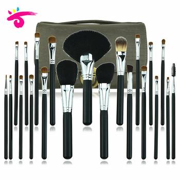 factory supply professional black makeup brush kit pincel