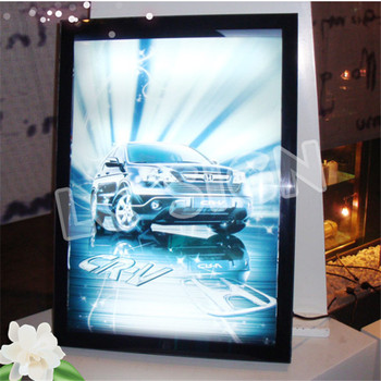 Professional Super Bright Malaysia Slim Led Light Box Snap Frame Manufactured In China