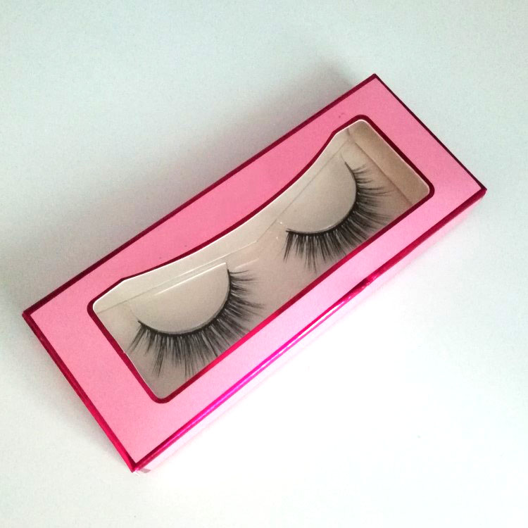Custom Box Free Eyelash Factory Synthetic Hair Material Faux Mink Lashes with No Animals Harmed