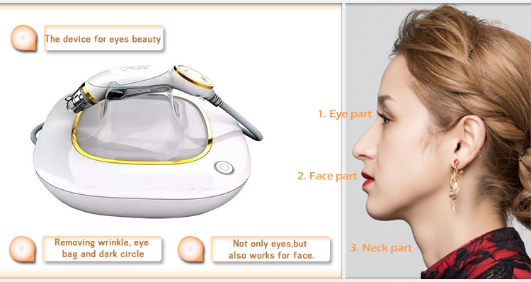 Hot Sale Golden Eyes Portable Mini RF Eye Care Machine for Beauty Salon and Home Use