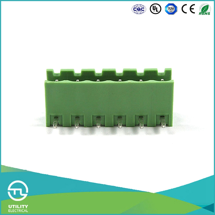 UTL Manufactured Products Pluggable Header Type Euro Electrical Meter Pcb Screw Terminal Block 5mm 5.08mm