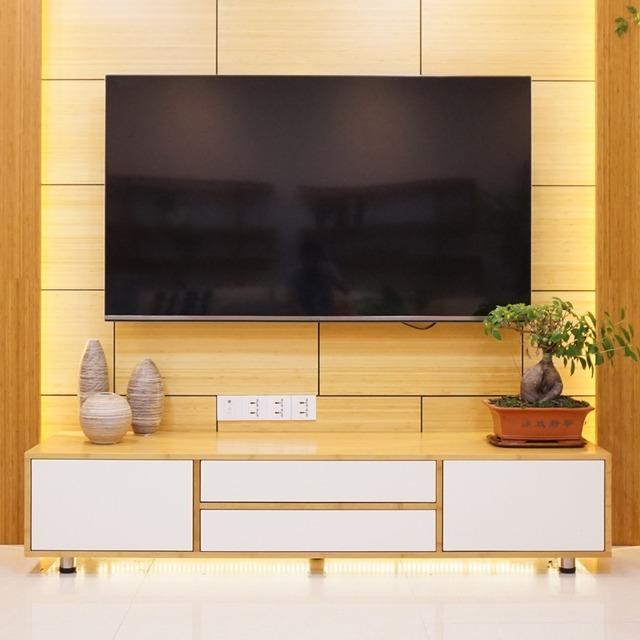 2016 Mondern Style Bamboo Dining Room Tv Cabinet Design