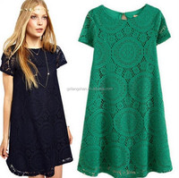 Latest fashion design lady blouse lace dress designs lace blouse and skirt