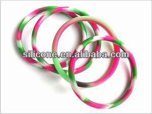 Round Plastic Bangle Bracelets