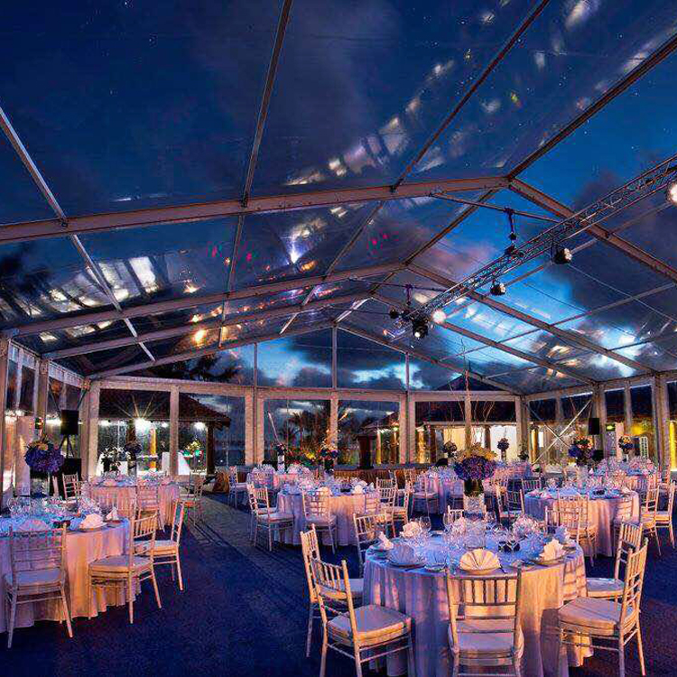 Large Outdoor Event Marquee Wedding Tents For 100 People