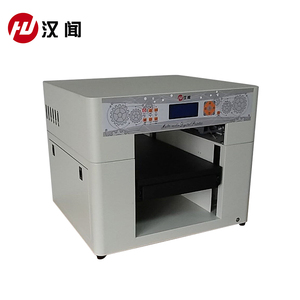 Small format desktop flatbed uv printer digital ceramic decal printer