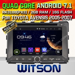 WITSON ANDROID 4.4 TAPE RECORDER CAR DVD FOR SSANGYONG RODIUS 2014 WITH RDS BLUETOOTH 1.6GHZ FREQUENCY STEERING WHEEL