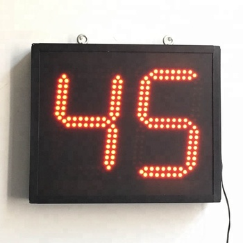 great digital 10 minutes 2 minutes day clock 2 digit led display