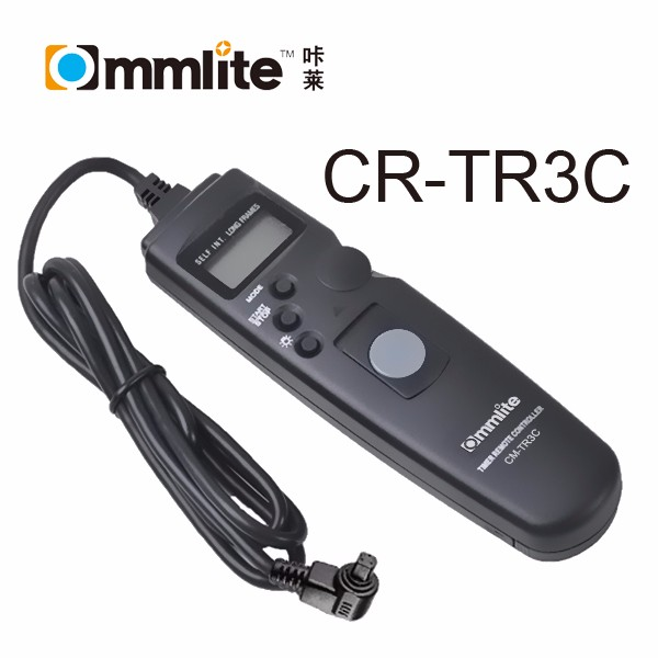 Commlite Camera Timer Remote Control Shutter Release for Canon 7D 5D Mark III 5D Mark II 50D 40D etc