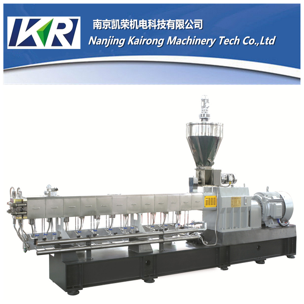 Pvc/Abs Plastic Pellet Machine Extruder Cutter Automatic Compounding Masterbatch Extrusion Production Line