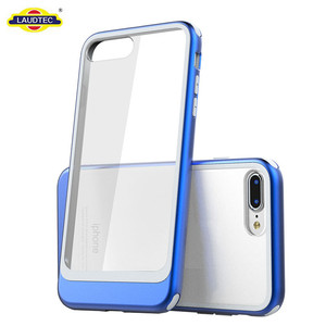 New Acrylic TPU Shockproof PC Case for iPhone 7