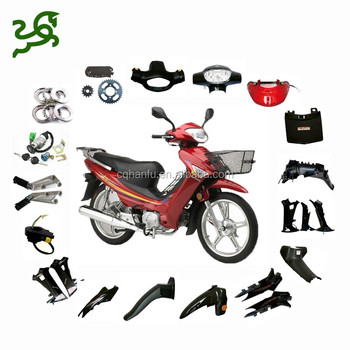 Warehouse factory units, units and parts of motorcycles, scooters, mopeds, motorbikes spare parts