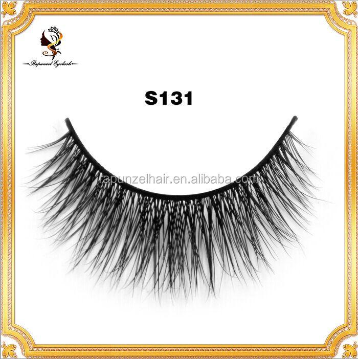 Best Seller Own Brand Oem Mink Eye Lashes Eyelash Extension S131