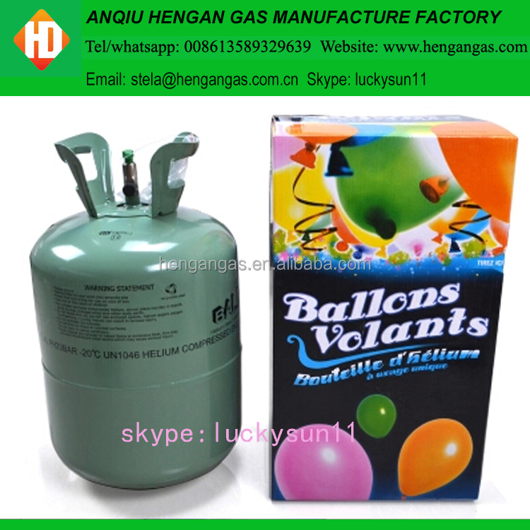 2015 Low Pressure Disposable Helium Tank with Free Balloons
