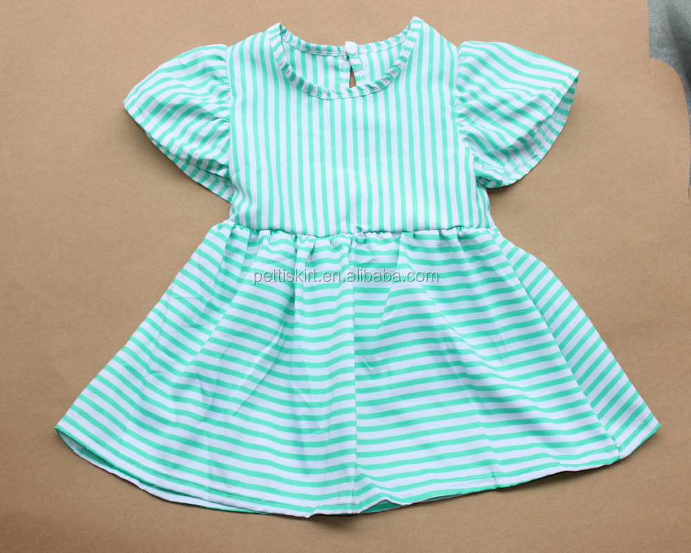 082bd3b5a China Kids Fancy Dresses Wholesale Children Girl Frocks High Quality Plain  Dress