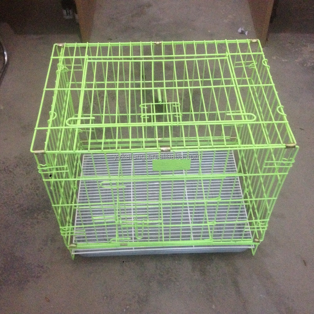 New design stainless steel foldable dog cage