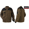 Pesso Twill workwear brown jacket / safety workwear