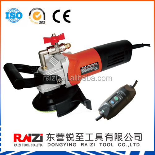 110V Variable Speed Handheld Electric Wet Polisher with 5/8 thread