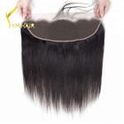 New arrival high grade long lasting Indian virgin human hair easy apply 13x4 lace closure for women