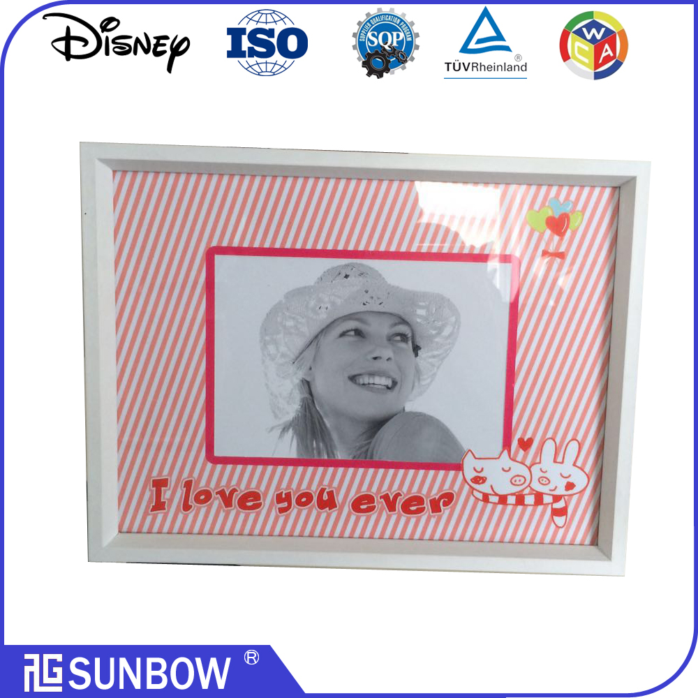 2016 New Style Acrylic Photo Photo Frame For Wedding Photo Frames