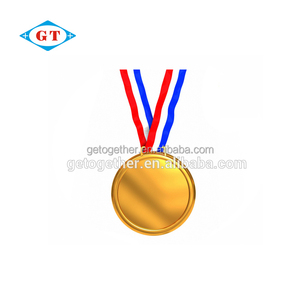 Customized Gold silver bronze sports award medallion metal medals