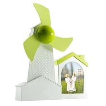 Multifunction 3 in 1 Windmills Mini USB fan with photo frame pen holder USB Cartoon Fan with Soft Fan Blade for desktop gifts