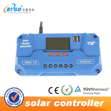 PV charge controller pwm 12v 24v auto