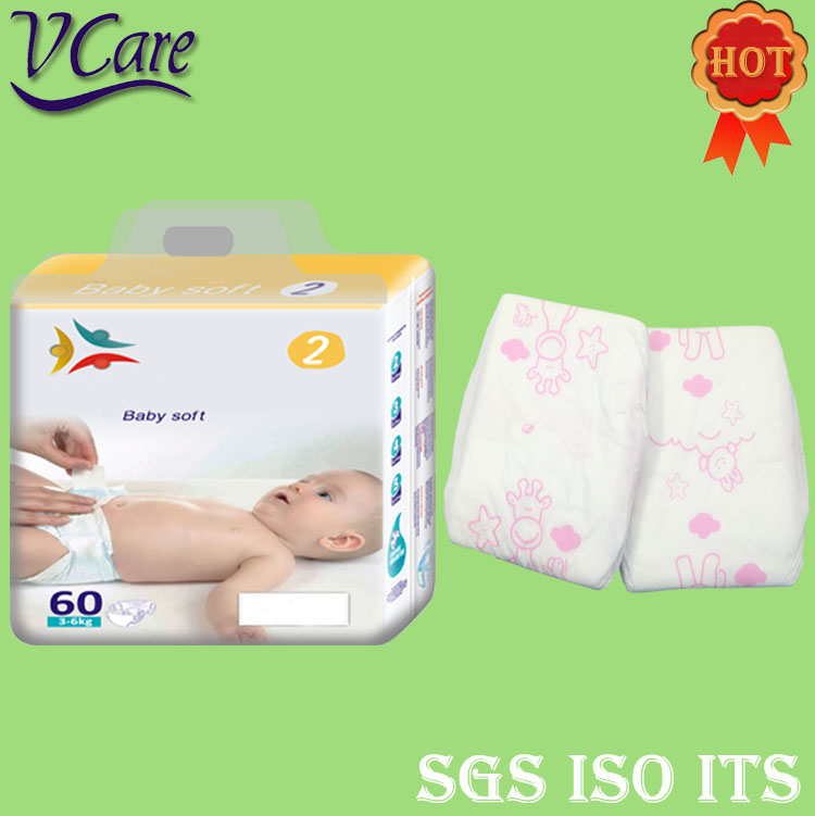 2017 Newest Product Fluff Pulp Baby Diaper Manufacturers In Turkey