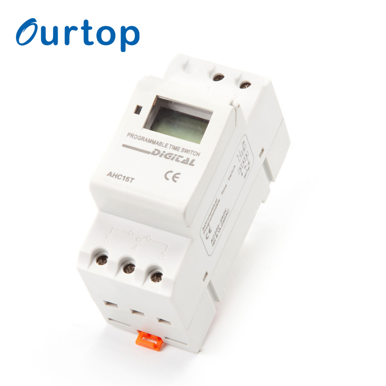 Aramox LCD Power Weekly Programmable Electronic Relay Time Switch 15A 220V Digital Timer