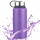 Flexwear 500ml/17 OZ Double Walled Vacuum Insulated Stainless Steel Water Bottle