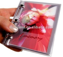 DIY Pocket Album 4:3 size (Festival Gift for saving memory/baby/wedding book Mini-color )