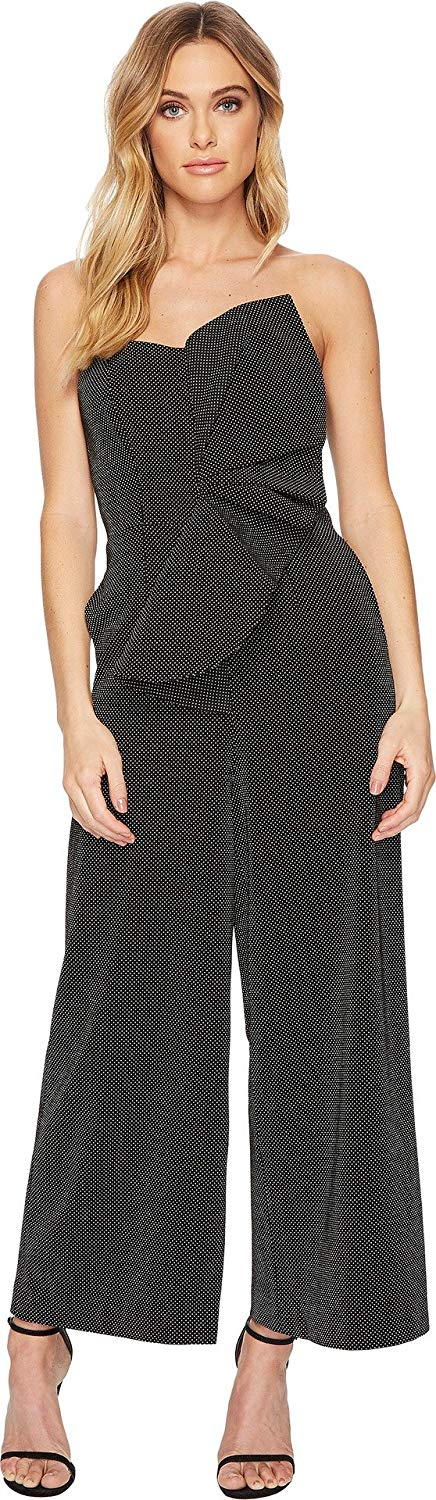 5ac0ad34f8 Get Quotations · Keepsake The Label Women s Love Light Origami Strapless  Textured Jumpsuit