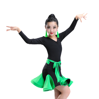 a8bd8acc5 New Summer Children Latin Dance Skirt Training Clothes - Buy Sexy ...