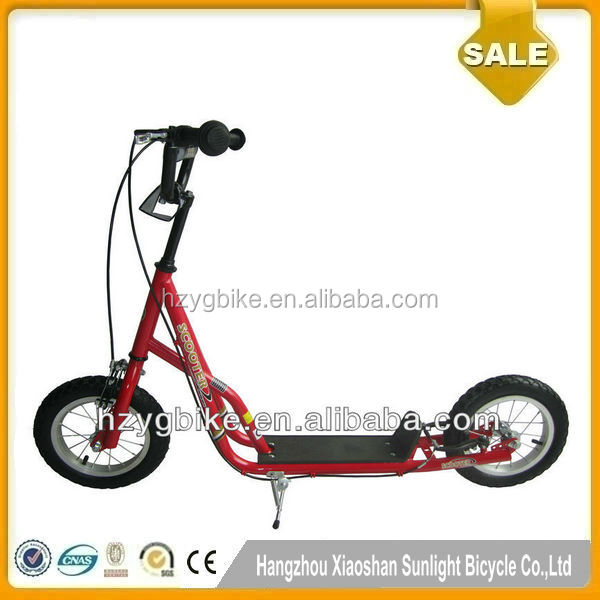 EN71 Top Sell Funny Kids Air Wheel Push Scooter Bmx Scooter Kick Scooter