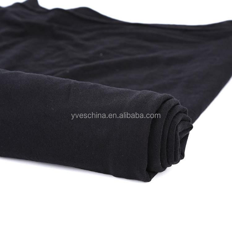 Factory Sale unique design soft rayon plain dye spandex knitted fabric for t shirt