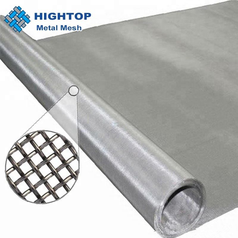 302 304 316 316L 5 10 25 50 100 200 micron stainless steel wire mesh