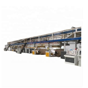 Automatic 3 5 7 Ply Corrugated Cardboard Production Line