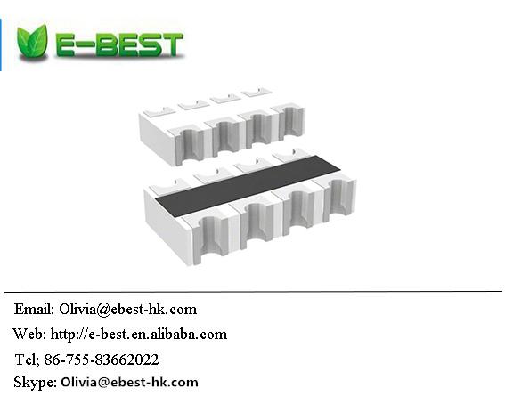 0 OHM 100 pieces PANASONIC EXB-38VR000V RESISTOR NETWORK 4 THICK FILM 0603