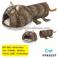 Cat accessories cat heating tunnel outdoor cat house China supplier -YF83237