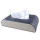 18001 Genuine leather car tissue paper box holder, custom rectangular facial tissue box covers for wholesale